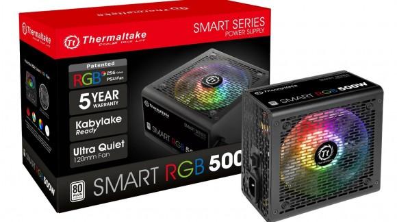 آنباکس پاور THERMALTAKE SMART SERIES 500W RGB